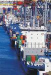 Feederschiffe am Eurogate Container Terminal Hamburg