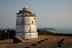 Leuchtturm von Goa nahe dem Fort Aguada, Indien