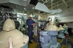 Arbeiten an den Separatoren für Kraftstoff, Fuel