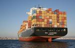 Containerschiff MSC LAUSANNE vor Neapel