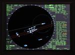Radar zeigt das Überholen eines Konvois im vor Piraten geschützten Korridor vor Somalia