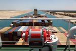 Voyage Data Recorder auf dem Peildeck (Großcontainerschiff im Sueskanal)