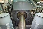 Welle, Antriebswelle (drive shaft, propeller shaft) mit Anschluss zur Hauptmaschine, Schiffsmaschine