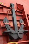 Reserveanker auf dem Vorschiff
