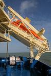 Freifall-Rettungsboot