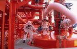 vereiste Rohrleitungen zum Heater des Gastankers (LPG-Tanker, LPG Carrier)