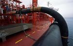 Ladeschläuche und Rohrleitungen zum Entladen des Gastankers (LPG-Tanker, LPG Carrier)